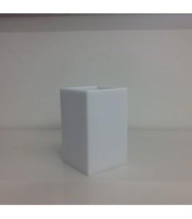Bicchiere Bianco Serie IVasi Medium di Geelli