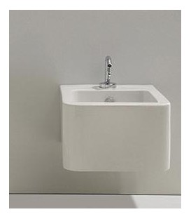 Nic Design serie PIllow bidet a terra Bianco