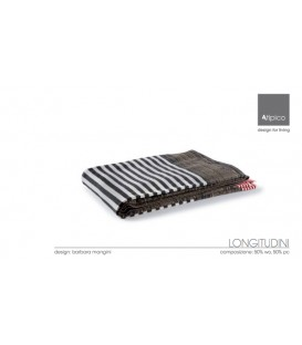 Plaid Longitudini 130x180 by Atipico