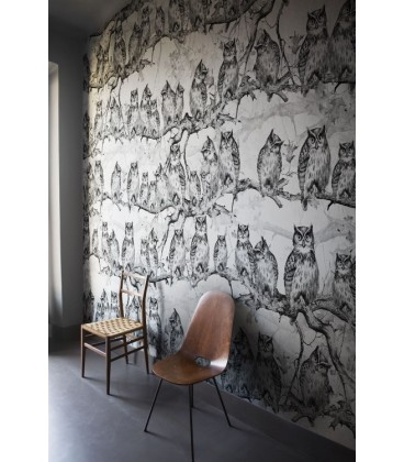 London Art Carta Da Parati Prezzi.Carta Da Parati Owls Resort London Art