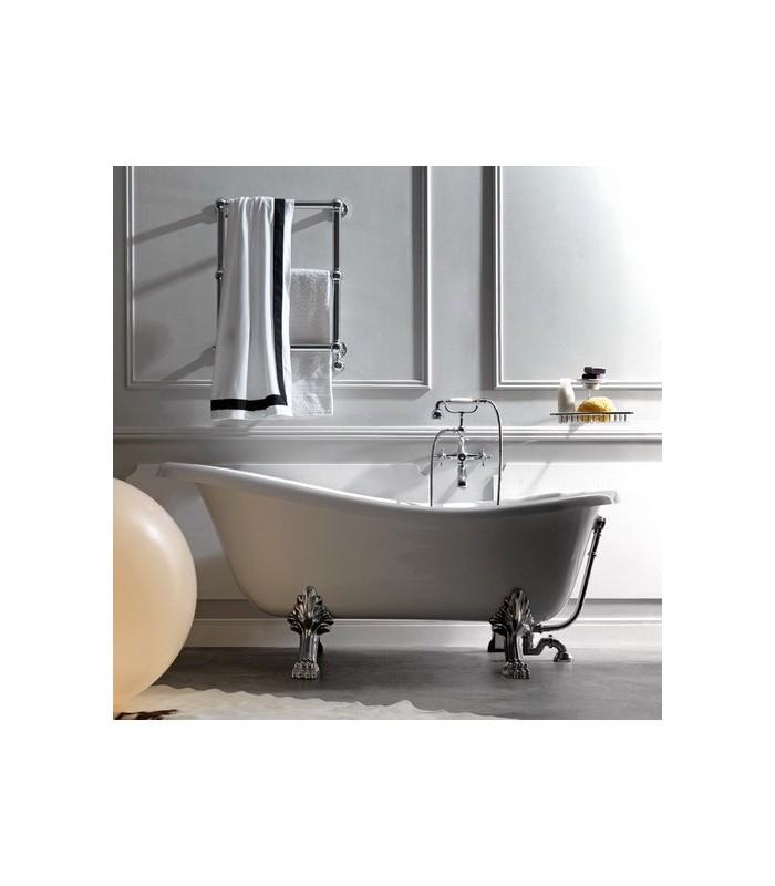 Retro 39 vasca da bagno bianca kerasan - Vasca da bagno retro ...