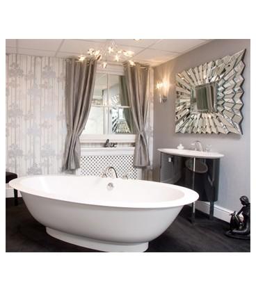 Vasca burgbad ovale serie diva centrostanza - Vasca da bagno ovale ...