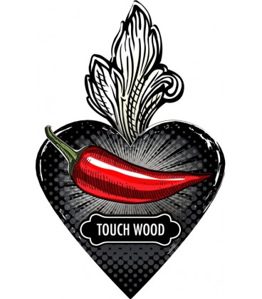 EXVOTO Cuore Decorativo Touch Wood / Tanta Fortuna