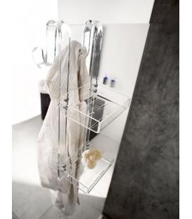 TL Bath Mensola porta oggetti 3 piani Plexigas Nero