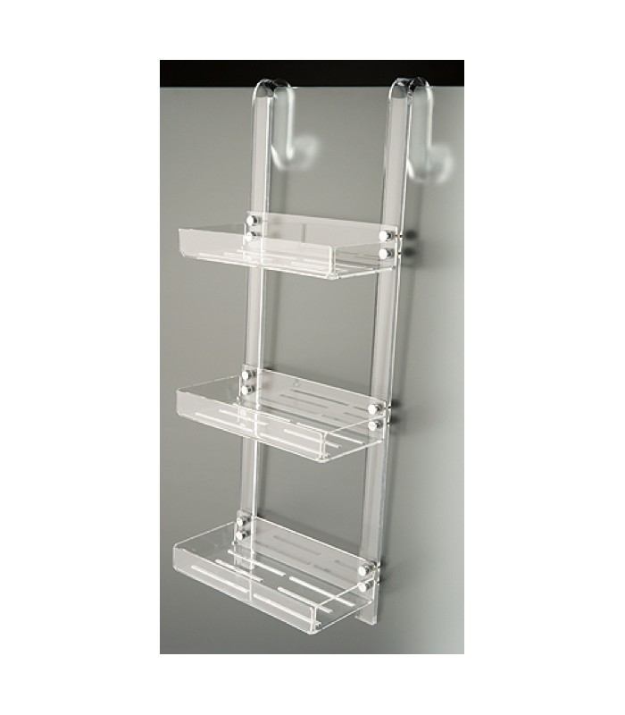 Tl bath porta oggetti da doccia con gancio plexigas - Portaoggetti bagno ...