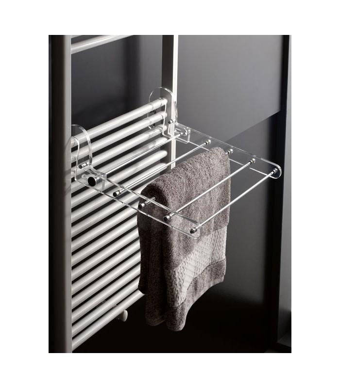 Tl bath stendibiancheria grande da termoarredo in plexigas - Stendibiancheria da bagno ...