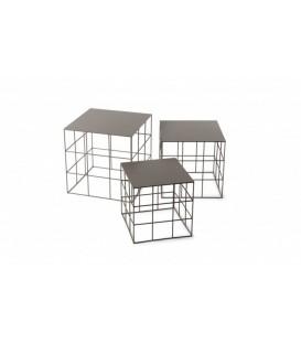 Tavolino Reton Quadrato di Atipico (Set 3 Pezzi)