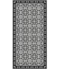 TAPPETO Pinta_Black in PVC 60x80 Adama'