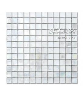 Neoglass Cubes Cotton 2,3x2,3 Iridescente Sicis