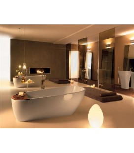 AQUATECH Vasca da bagno in Pietraluce Kerasan