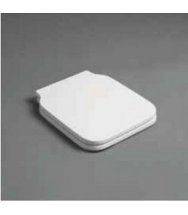 Sedile per wc Flow Bianco con soft-closing