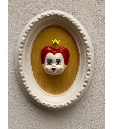 DAVID BOWIE Testa in ceramica